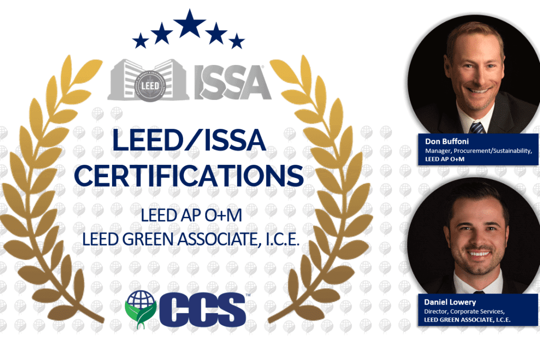 New LEED/ISSA Certifications