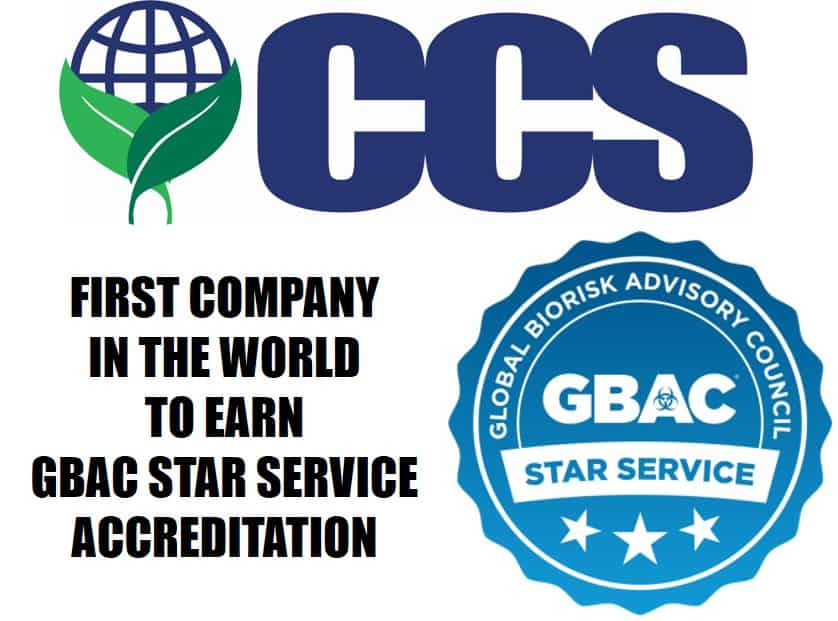 CCS Facility Services First Company in the World to Earn GBAC STAR Service Accreditation